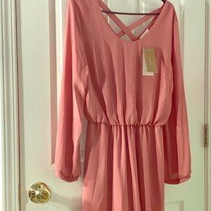 Francescas pink dress